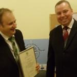 Įteiktos padėkos už bendradarbiavimą ir pagalbą (2012-12-02)